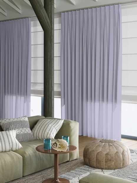 Vitrage Topcolor Voile paars