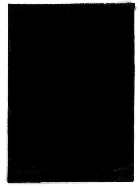 Vloerkleed Plush zwart