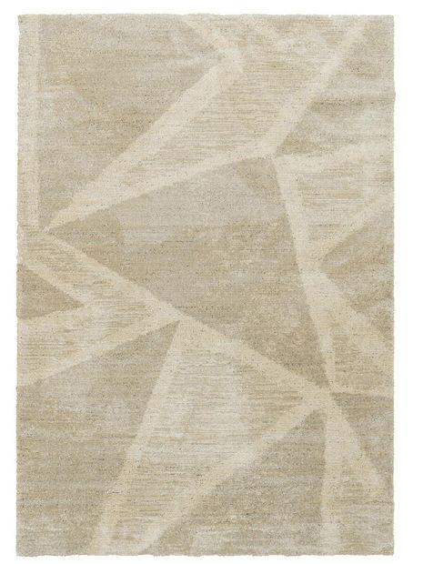Vloerkleed Scandinavië beige triangle