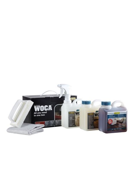 Woca Onderhoudsbox wit